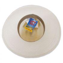 Southwest Panama Straw Wide Brim Fedora Hat alternate view 8