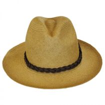 Twisted Panama Straw Safari Fedora Hat in