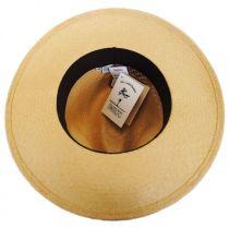 Tucson Vent Panama Straw Fedora Hat alternate view 8