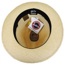 Groff Vent Panama Straw Fedora Hat alternate view 8