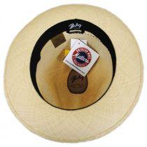 Groff Vent Panama Straw Fedora Hat alternate view 12