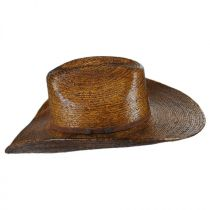 Fender Palm Straw Cattleman Western Hat alternate view 3