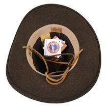 Morgan Wool LiteFelt Aussie Western Hat in
