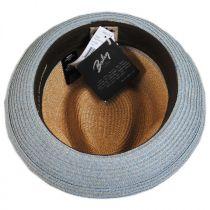 Hooper Toyo Straw Blend Trilby Fedora Hat alternate view 36