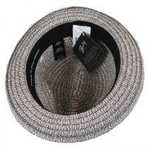 Truro Toyo Straw Blend Trilby Fedora Hat in