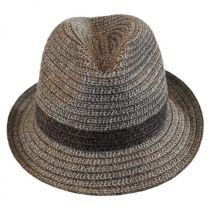 Truro Toyo Straw Blend Trilby Fedora Hat alternate view 2