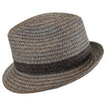 Truro Toyo Straw Blend Trilby Fedora Hat alternate view 3