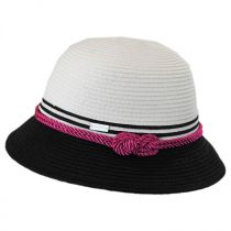 Kate Toyo Straw Cloche Hat in