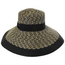 Audrey Toyo Straw Blend Downbrim Hat alternate view 2