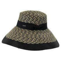 Audrey Toyo Straw Blend Downbrim Hat alternate view 3