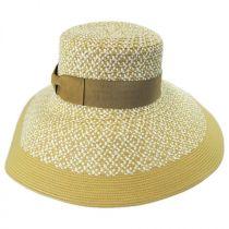 Audrey Toyo Straw Blend Downbrim Hat alternate view 6