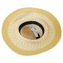 Audrey Toyo Straw Blend Downbrim Hat alternate view 8