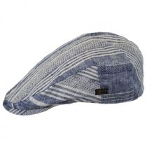 Edring Striped Linen and Cotton Ivy Cap in