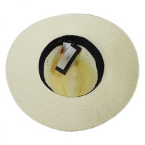 Monaco Toyo Straw Fedora Hat alternate view 4