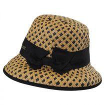 Bridgitte Toyo Straw Bucket Hat in