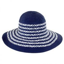 Corsica Ribbon and Toyo Straw Roller Hat alternate view 2