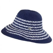 Corsica Ribbon and Toyo Straw Roller Hat alternate view 3