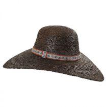Raffia Straw Floppy Wide Brim Hat alternate view 3