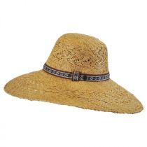 Raffia Straw Floppy Wide Brim Hat alternate view 7