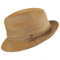 Tate Braided Straw Fedora Hat in