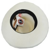 Jill Toyo Straw Wide Brim Fedora Hat in