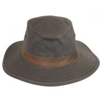 Lookout Tech Canvas Safari Fedora Hat in