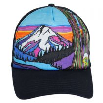 Mountain Northwest Trucker Snapback Baseball Cap alternate view 2