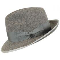 Malcolm Wool Felt Trilby Fedora Hat in