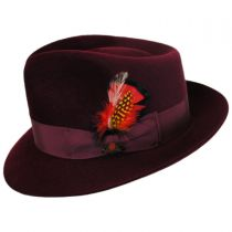 Executive Fur Felt Trilby Fedora Hat in