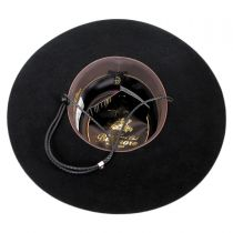Toledo Wool Felt Bolero Hat in