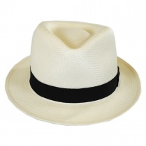 Guthrie Shantung Straw Fedora Hat
