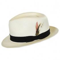 Guthrie Shantung Straw Fedora Hat alternate view 9