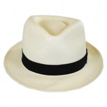 Guthrie Shantung Straw Fedora Hat alternate view 14