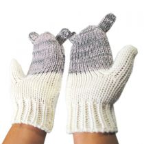 Jackie Knit Mittens in