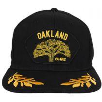 Oakland Snapback Baseball Cap in