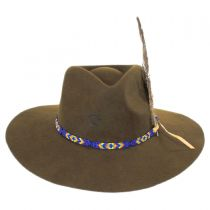 Gypsy Wool Felt Western Hat in