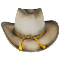 John Wayne The Fort Wool Felt Crushable Western Hat in