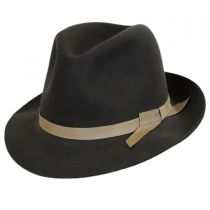Sightseer Fur Felt Open Crown Fedora Hat alternate view 2