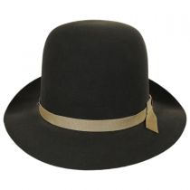 Sightseer Fur Felt Open Crown Fedora Hat alternate view 4