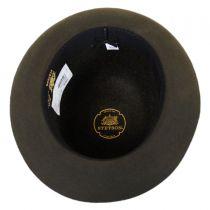 Sightseer Fur Felt Open Crown Fedora Hat in
