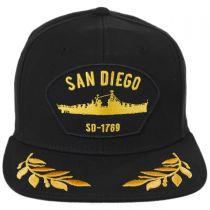 San Diego Snapback Baseball Cap in