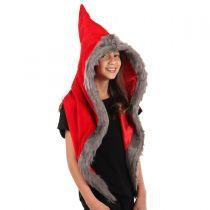 Red Riding Velvet Hood alternate view 3