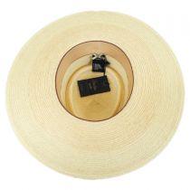 Barcelona Palm Leaf Straw Boater Hat alternate view 4
