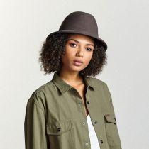 Malone Wool Felt Trilby Fedora Hat in