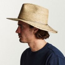 Carnaby Raffia Straw Wide Brim Fedora Hat alternate view 5