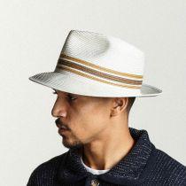 Whittaker Toyo Straw Fedora Hat in