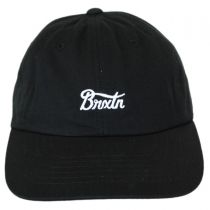 Potrero Cotton Strapback Baseball Cap Dad Hat in