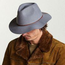 Wesley Wool Felt Floppy Fedora Hat in