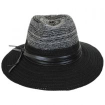 Two-Tone Knit Safari Fedora Hat alternate view 2
