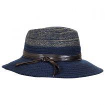 Two-Tone Knit Safari Fedora Hat alternate view 3